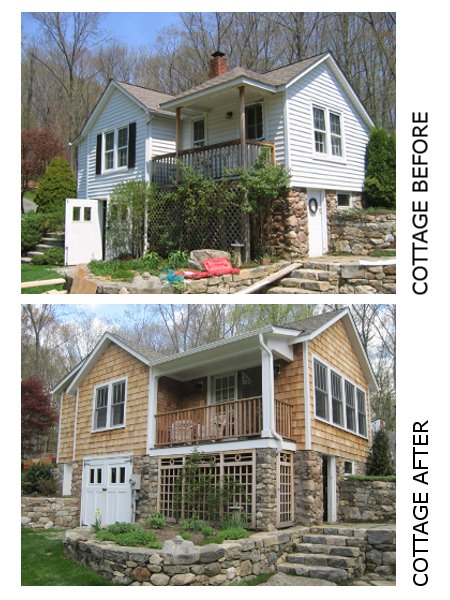 Cottage Before and After