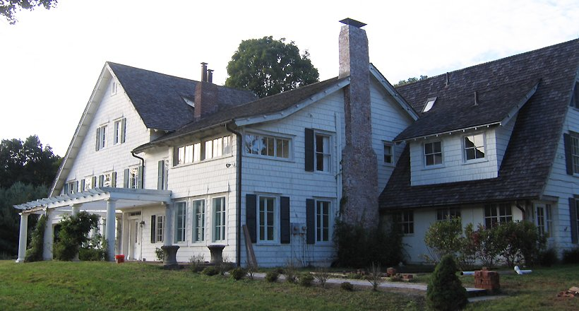 Dutchess County Estate, Main House