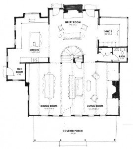 Schematic Design First Floor