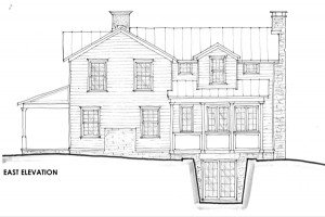 Schematic Design East Elevation