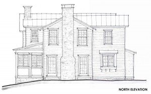 Schematic Design North Elevation