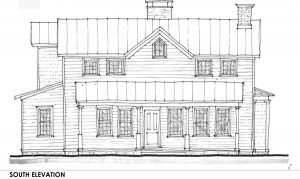 Schematic Design South Elevation