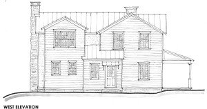 Schematic Design West Elevation