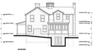 Design Development East Elevation