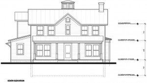Design Development South Elevation