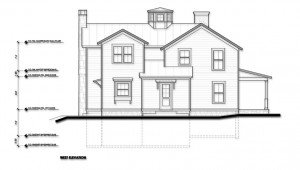 Design Development West Elevation