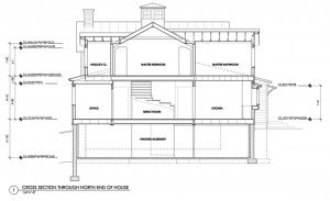 Construction Documents Building Cross Section