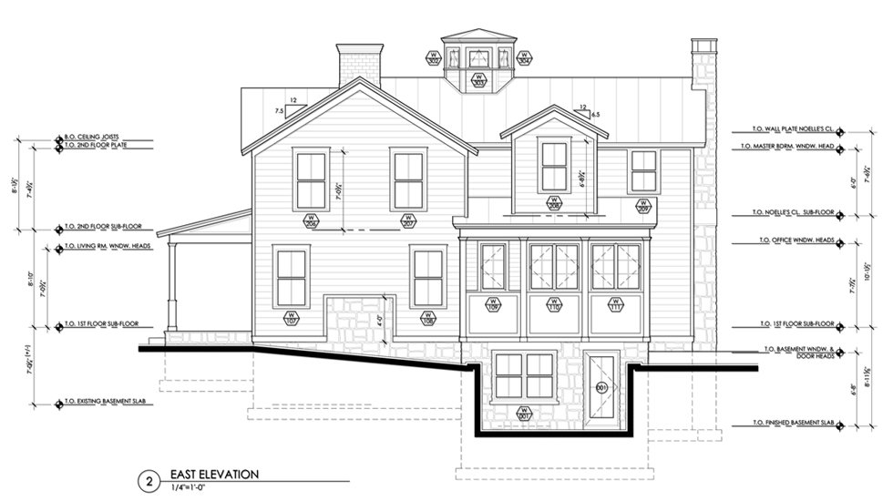 Building Drawing Plan Elevation Section : Hudson valley extreme makeover construction documents