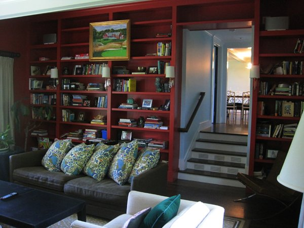 Living Room Bookshelves