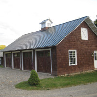 Garage and Stable View 2