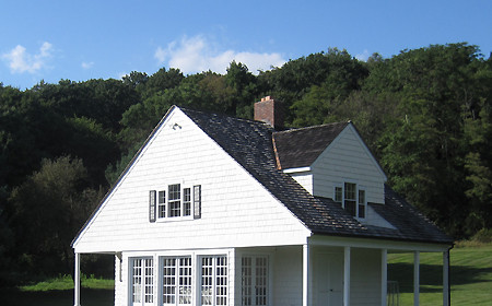 Poolhouse Before Porch Addition